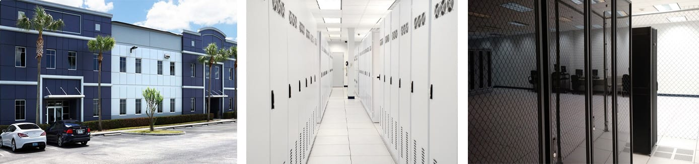 Alpha Net's Orlando datacenter and headquarters