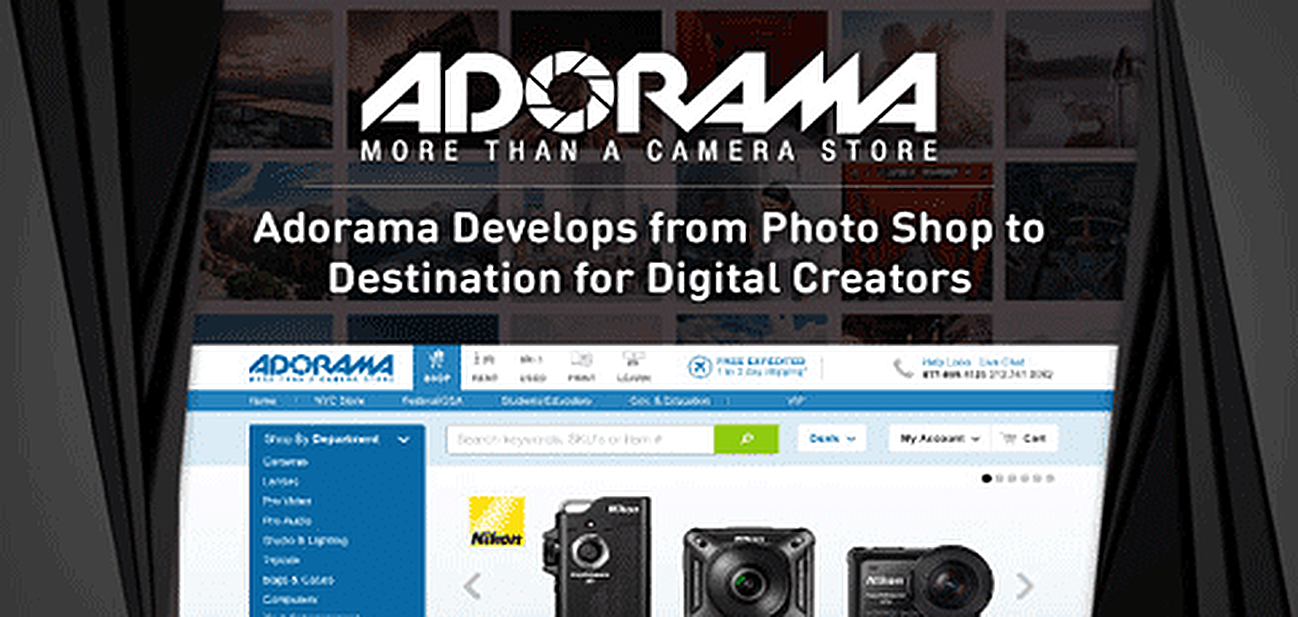 Adorama Continues Developing from Photography Shop to Destination