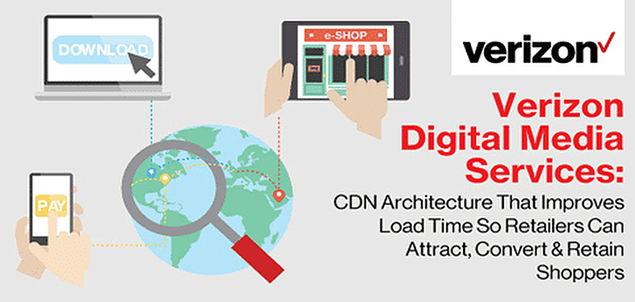 Verizon Digital Media Services: CDN Architecture That Improves Load Time So Retailers Can Attract, Convert & Retain Shoppers