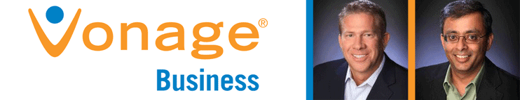Photos of Vonage Business' Clark Peterson and Sanjay Srinivasan