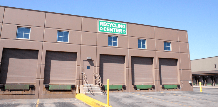 Photo of Abt Electronics recycling center