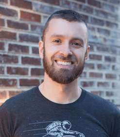 Photo of Mapbox Director of Business Intelligence and Data Visualization Matt Irwin