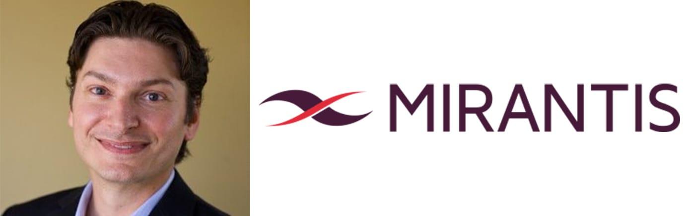 Image of David Van Everen and the Mirantis logo