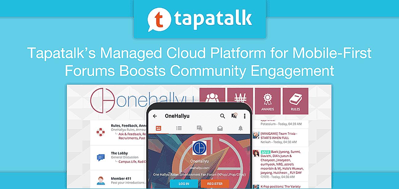 Tapatalk's Managed Cloud Platform for Mobile-First Community