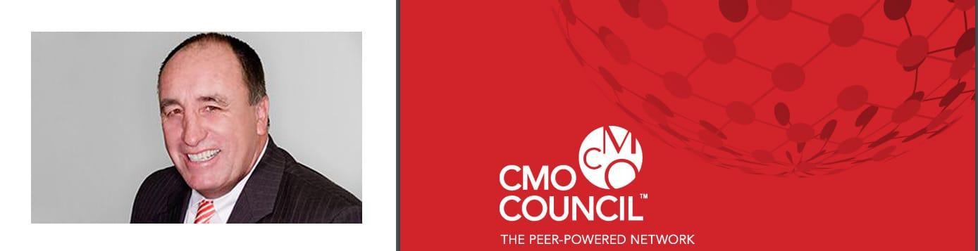 CMO Council Executive Director Donovan Neale-May and logo