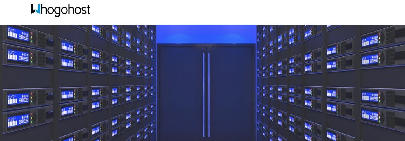 Screenshot of WhoGoHost homepage