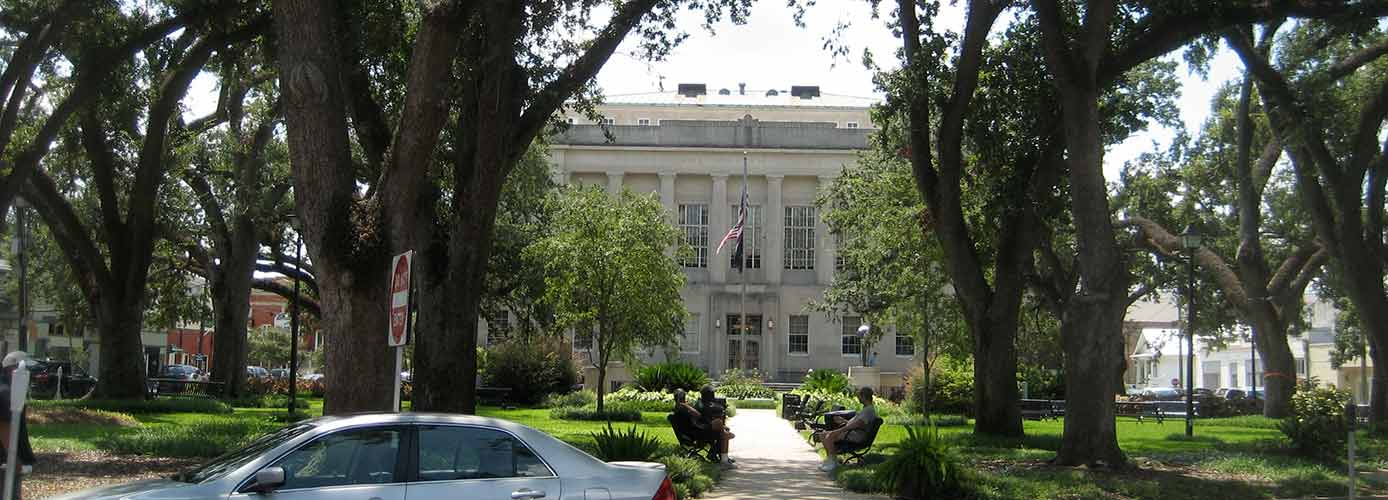 Image of Houma, Louisiana, courthouse