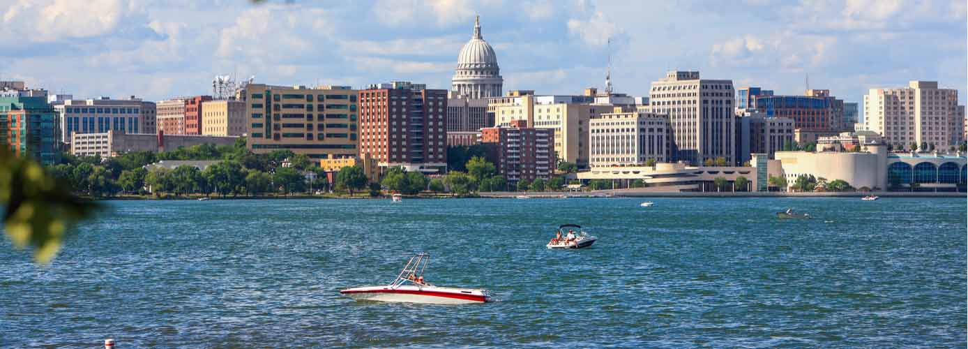Image of downtown Madison, Wisconsin