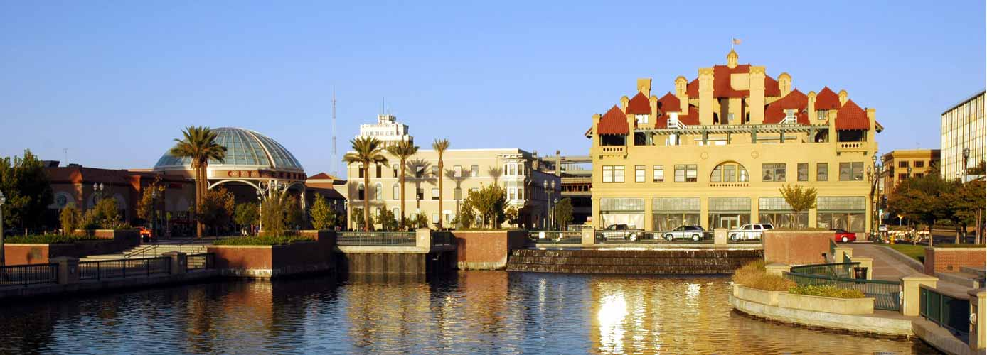 Image of Stockton, California, waterfront