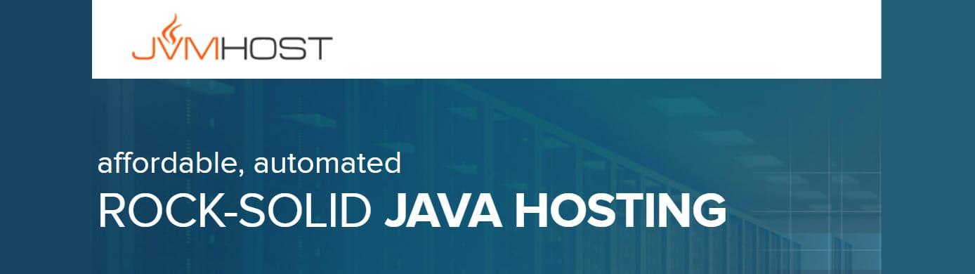 JVM Host logo and website banner