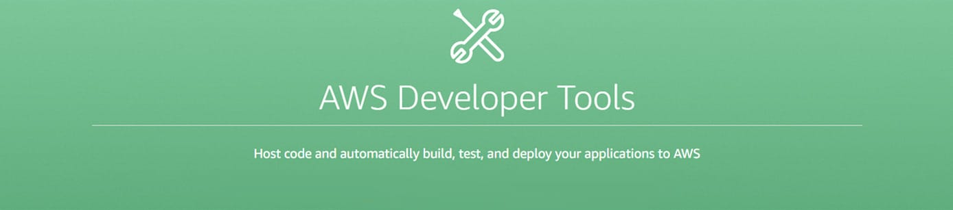 AWS Developer Tools banner