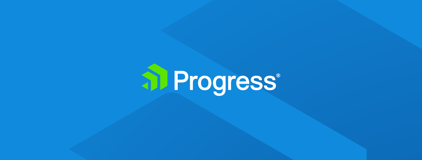 Screenshot of Progress logo banner