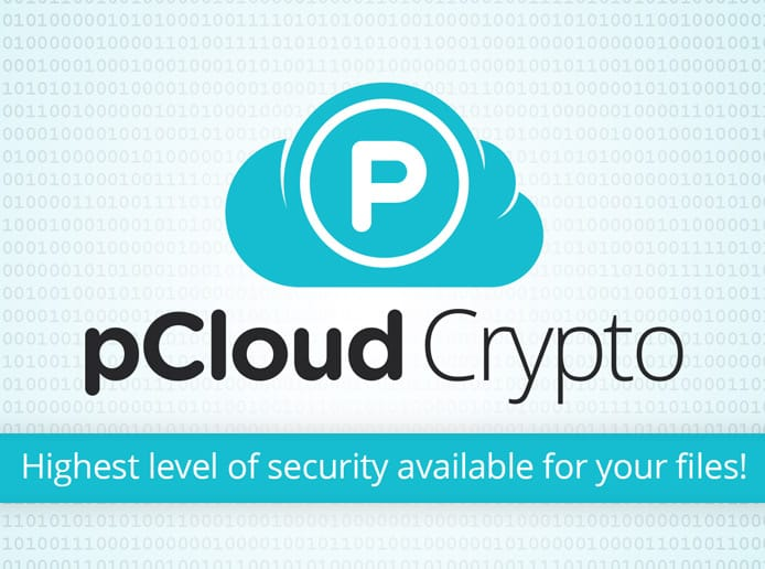 Screenshot of pCloud Crypto