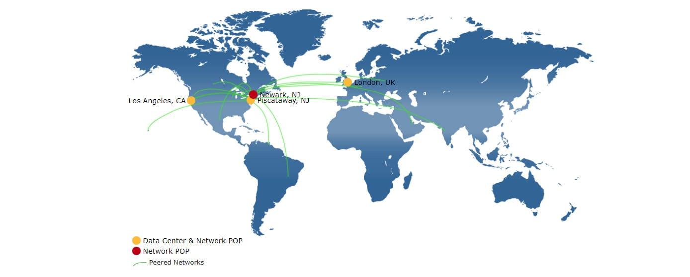 24Shells datacenter map