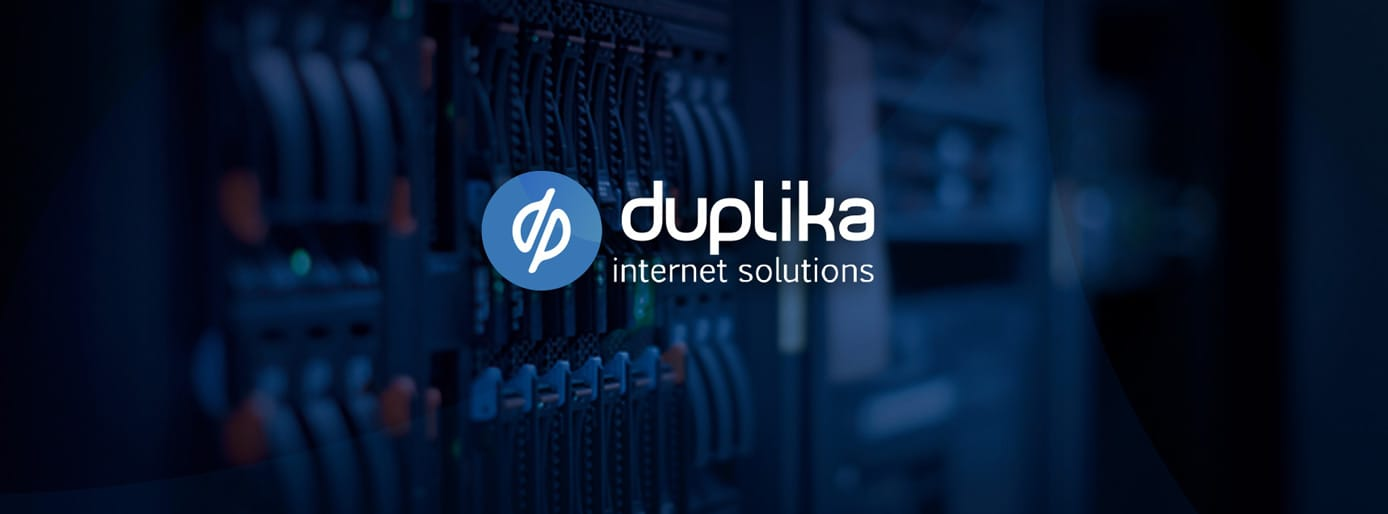 Screenshot of Duplika banner