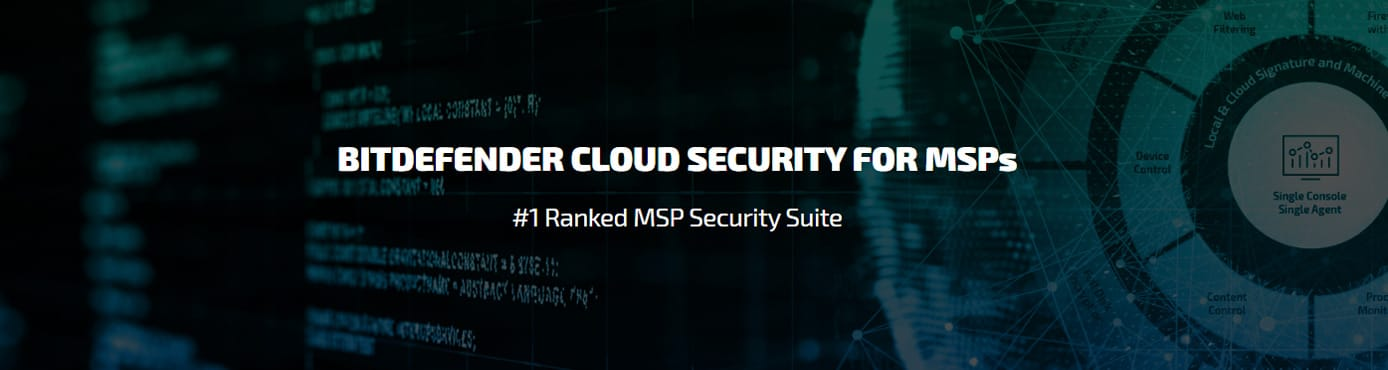 Bitdefender Cloud Security for MSPs