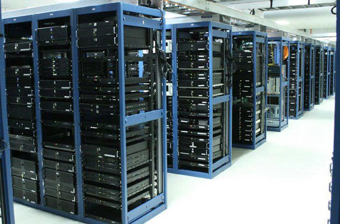 Photo of Duplika server room