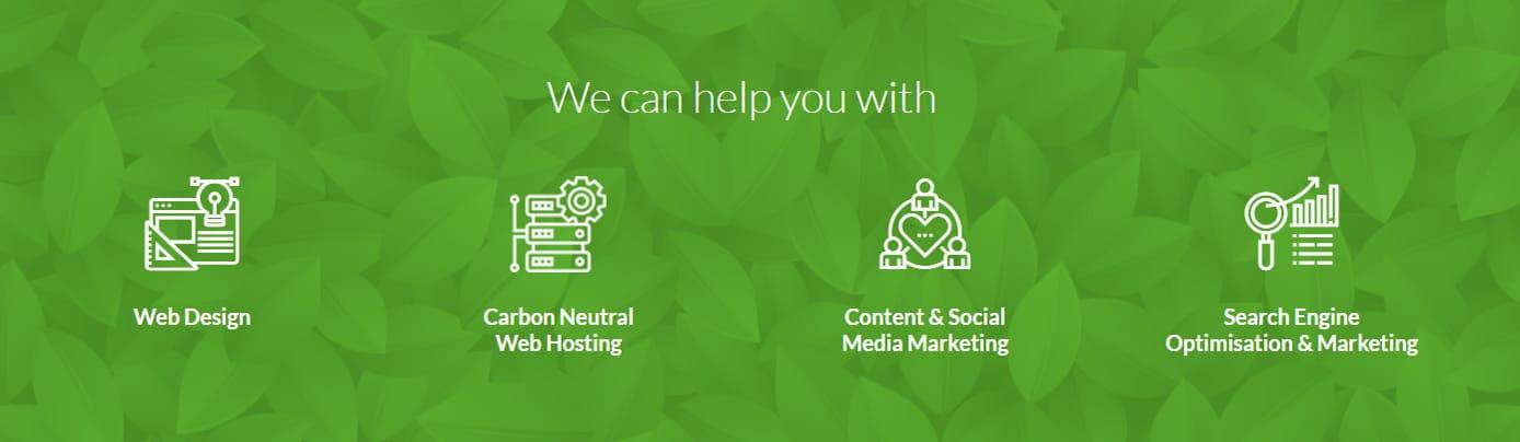 Screenshot of LYF Solutions banner