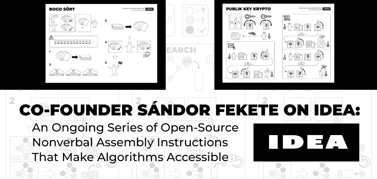 Co-Founder Sándor Fekete on IDEA: An Ongoing Series of Open-Source