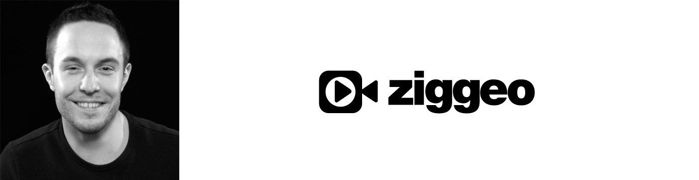 Ziggeo Co-Founder Oliver Friedmann and company logo
