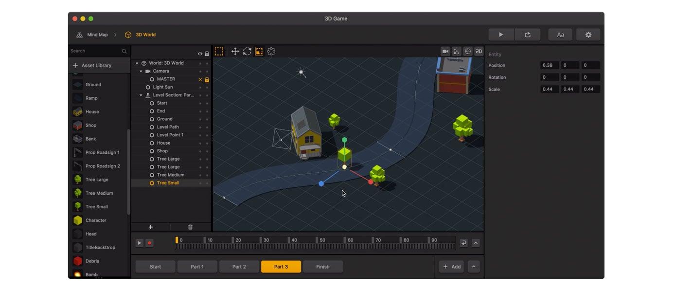 Buildbox 3 screenshot