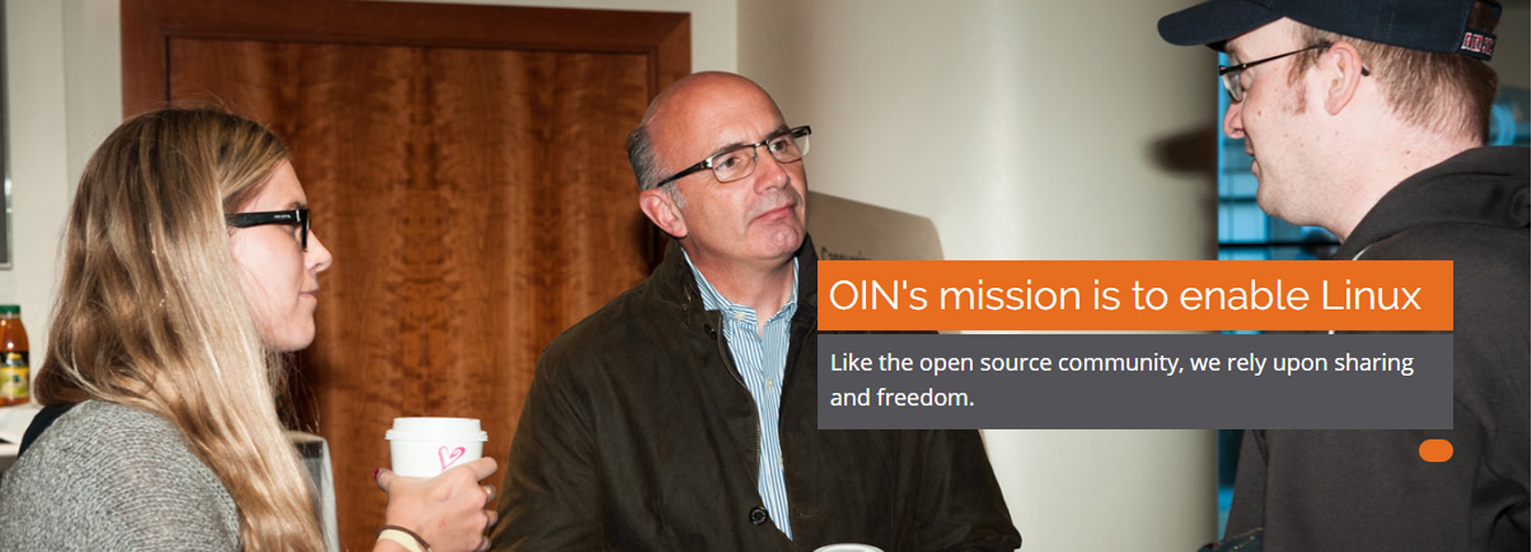 OIN's mission is to enable Linux