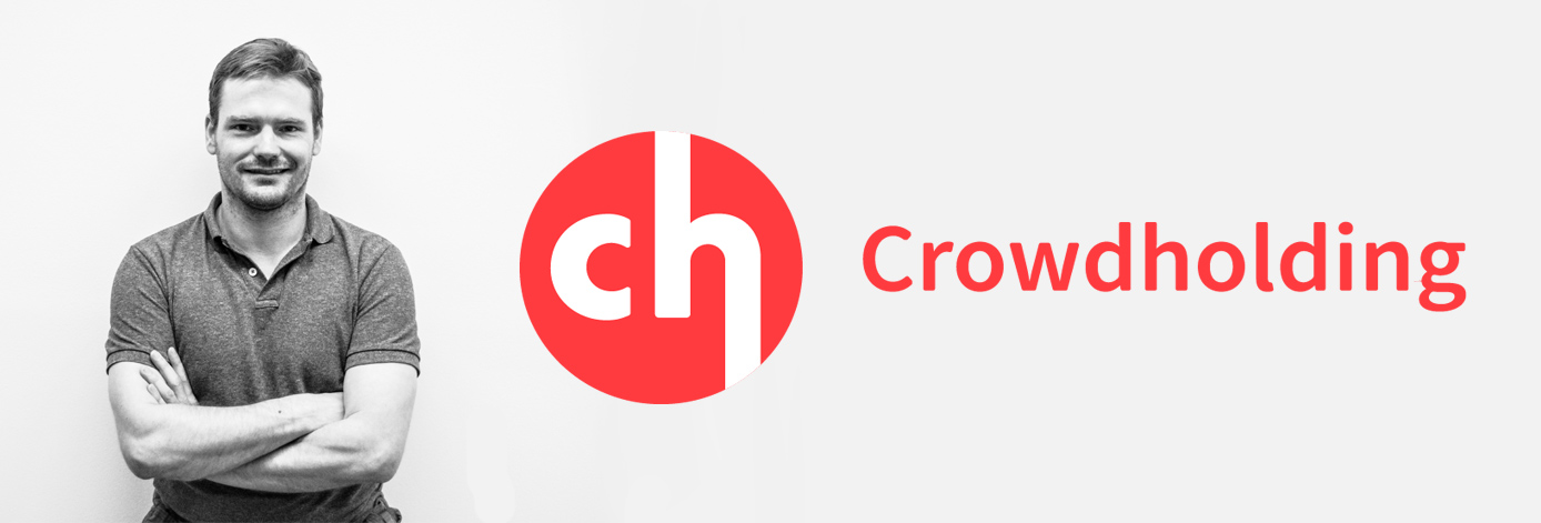 Crowdholding CEO and logo