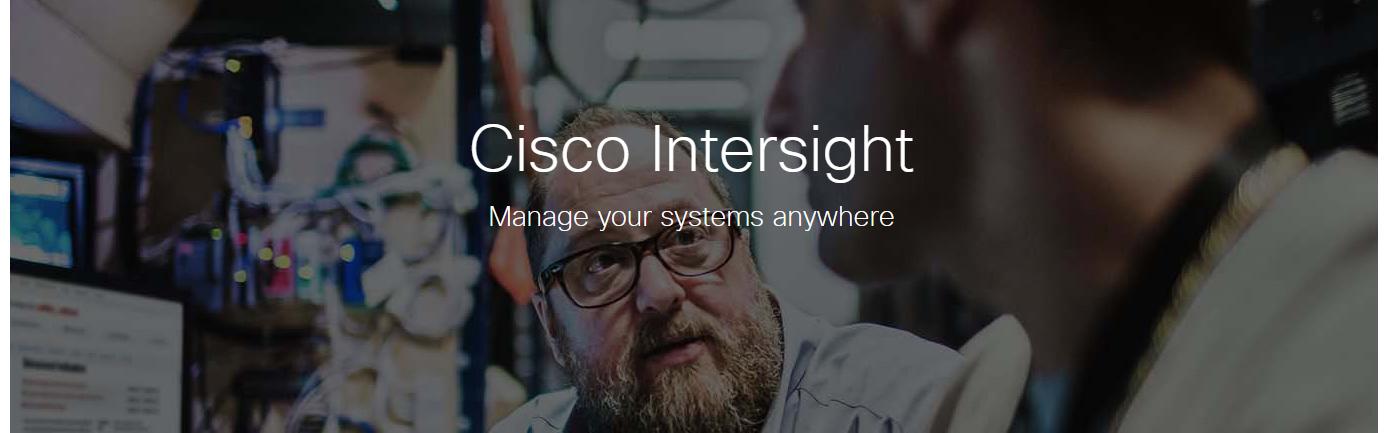Cisco Intersight banner