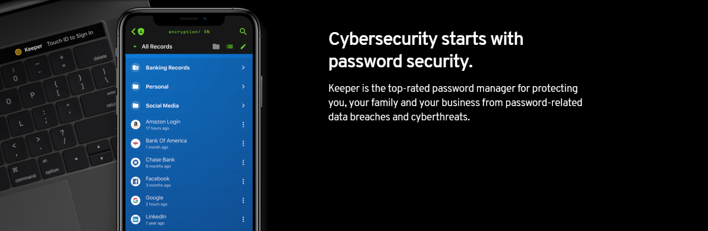Cybersecurity starts with password security
