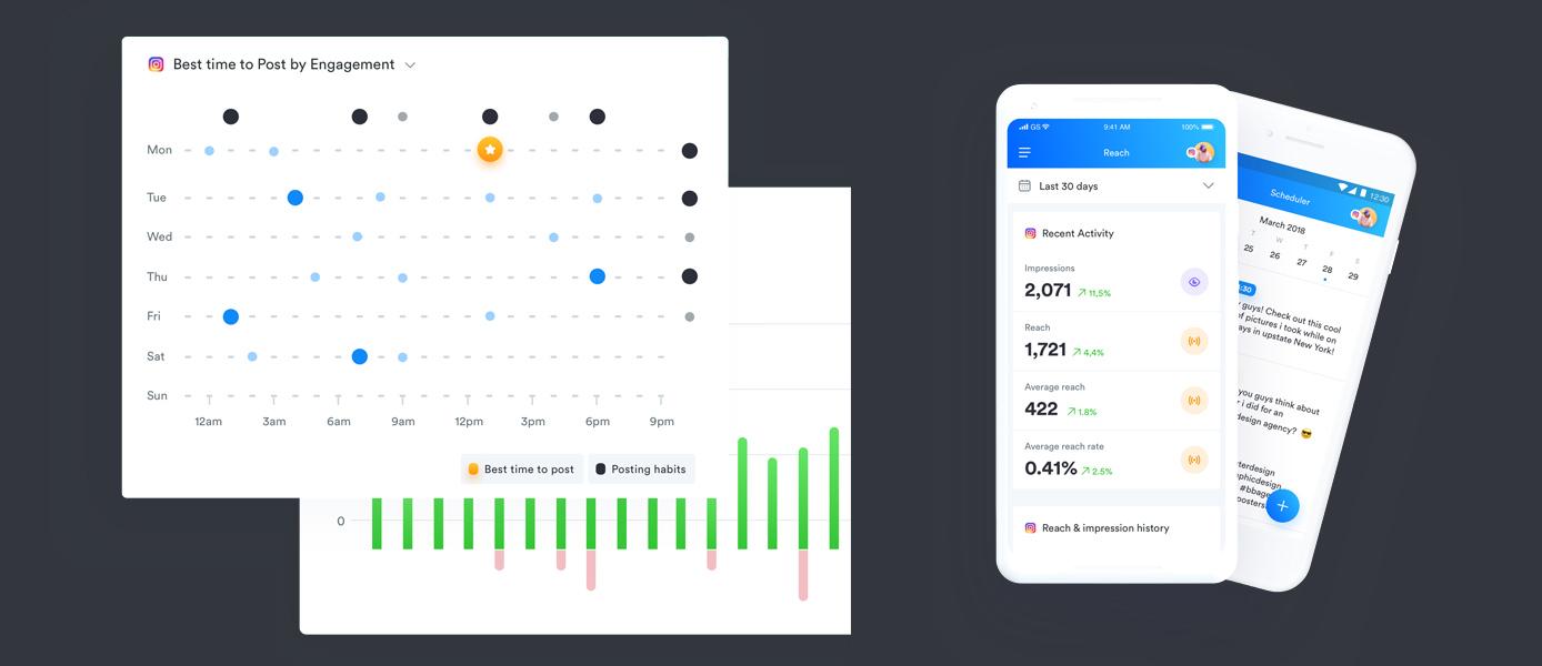 Screenshots from platform