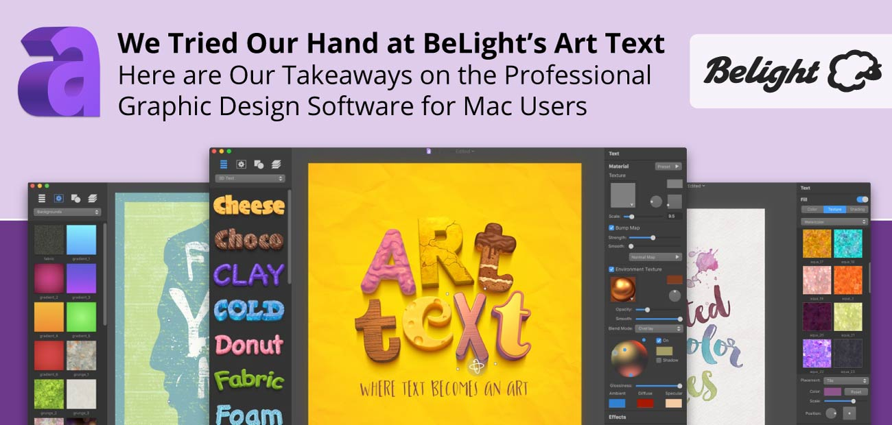 We Tried Our Hand at BeLight's Art Text — Here are Our