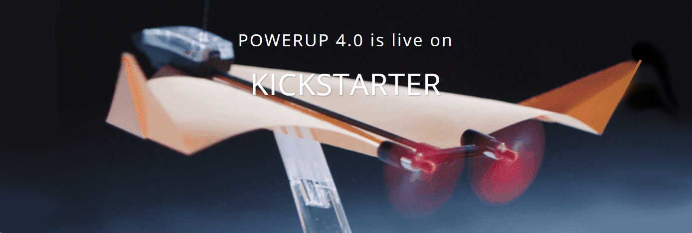 POWERUP 4.0 is live on Kickstarter