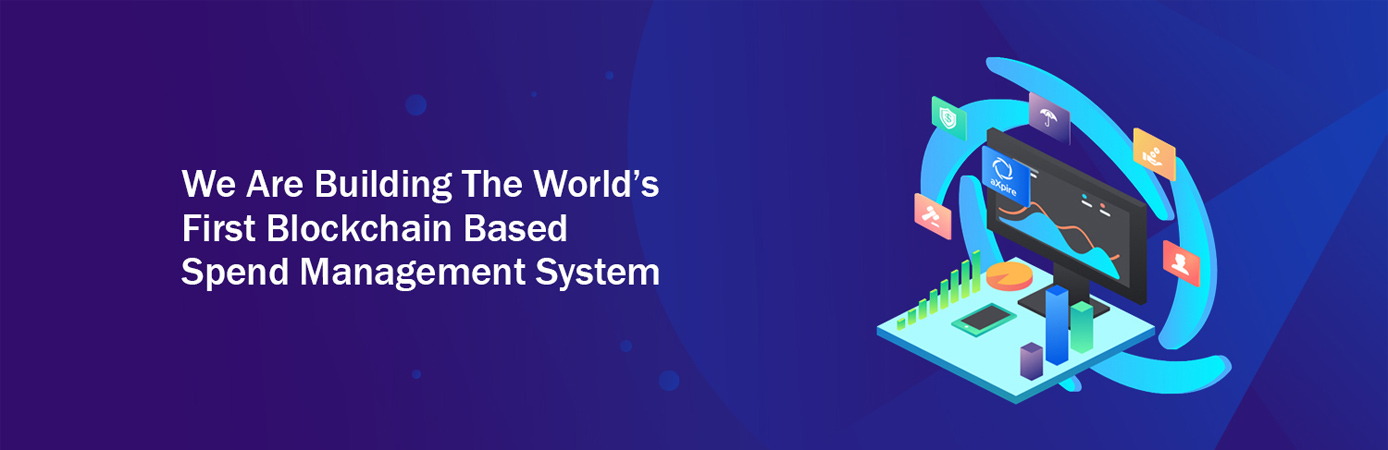 We are building the world's first blockchain-based spend management system