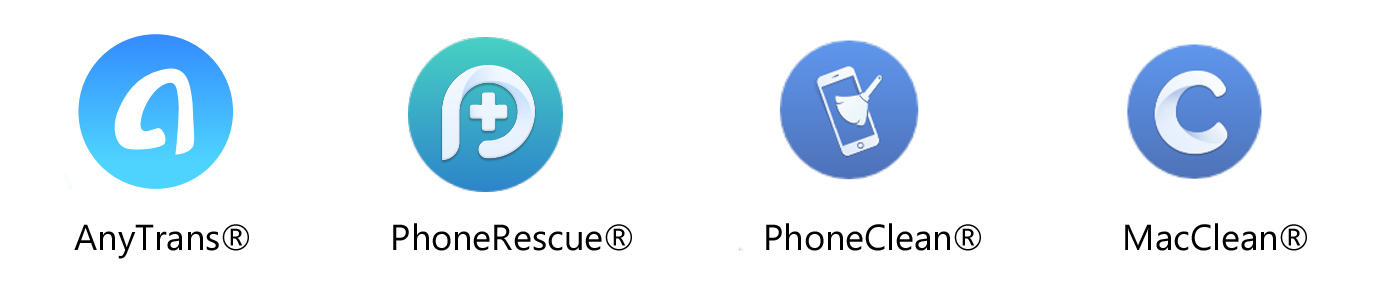 iMobie app logos
