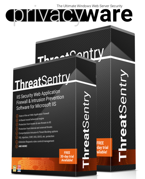Privacyware logo and product images