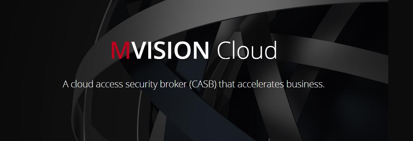 MVISION Cloud banner