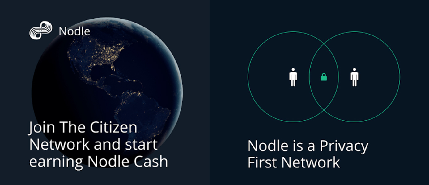 Picture of globe and text reading: Join the Citizen Network and start earning cash