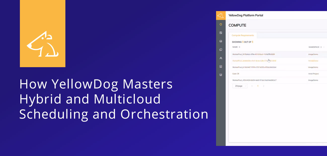 The Art Of Computing Power How Yellowdog Masters Hybrid And Multicloud Scheduling And Orchestration Hostingadvice Com Hostingadvice Com